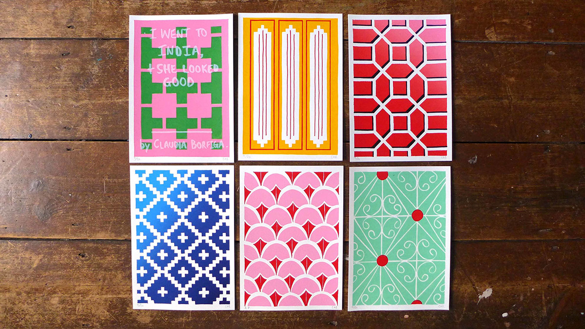India Mini Pattern Prints_Claudia Borfiga